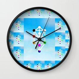 Cabbala Wall Clock