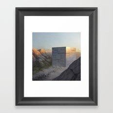 Control Machine Framed Art Print