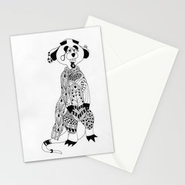 Malcolm the Maladjusted Meerkat Stationery Cards