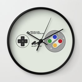 NINTENDO SUPER FAMICOM Wall Clock