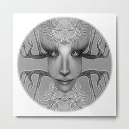 sus ojos Metal Print