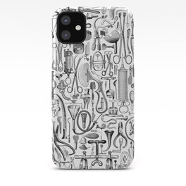 Medical Condition B&W iPhone Case