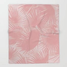 Pastel Palms #society6 #decor #buyart Throw Blanket