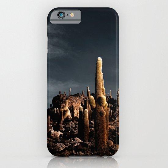 Cactus in Incahuasi island iPhone & iPod Case