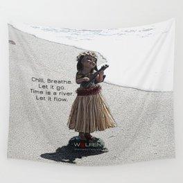 Wolfen Hula Babe Wall Tapestry