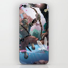 Almighty Pan iPhone Skin