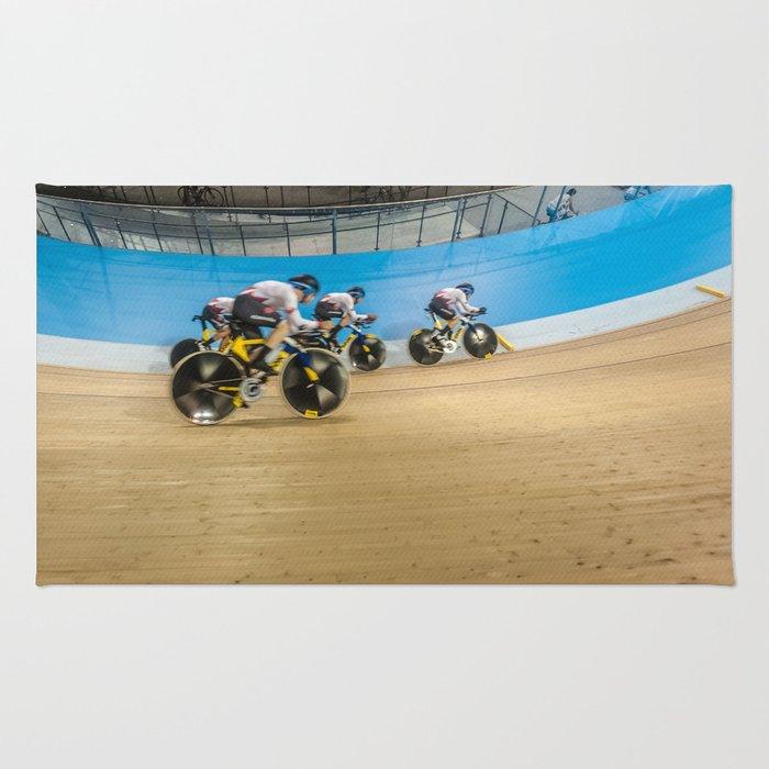 Velodrome Cycling Rug