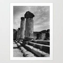 Pompeii - A City Uncovered - 2 Art Print