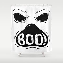 GHOST BOO Shower Curtain