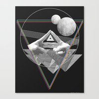 triforce Canvas Prints featuring Triforce by Bambi