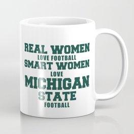 Real Women Love Football Coffee Mug