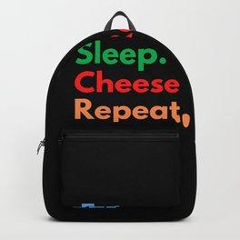 Eat. Sleep. Cheese Rolling. Repeat. Backpack