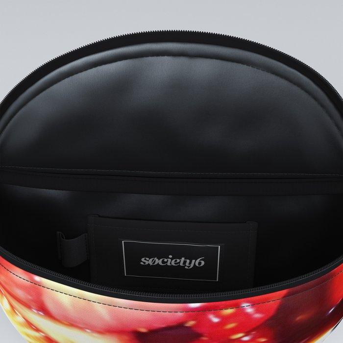 Rectangle Strawberries Fanny Pack