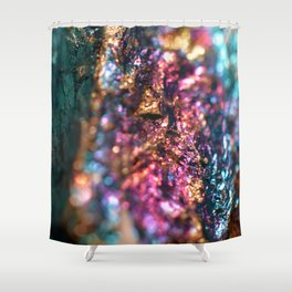 Peacock Ore Shower Curtain