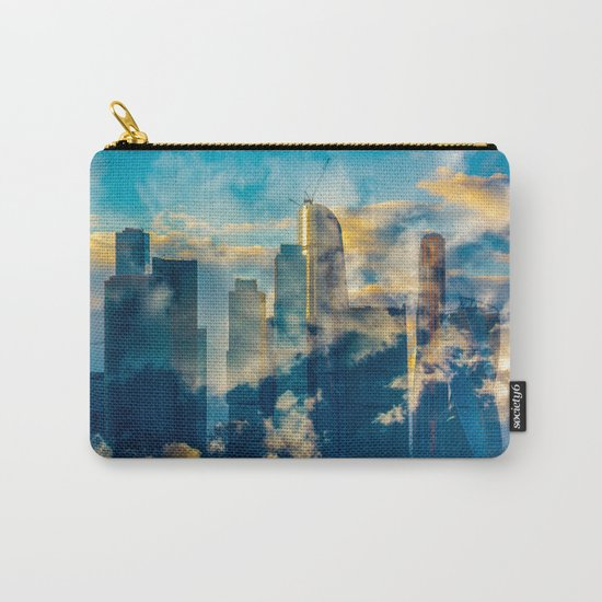 skyscrapers in the clouds Carry-All Pouch