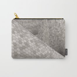 Snake Skin Carry-All Pouch