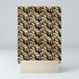 Golden Rose Garden Mini Art Print