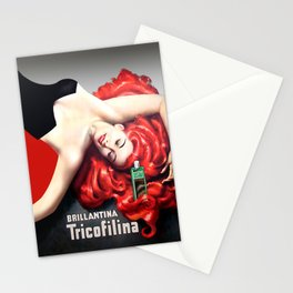 Vintage Brillantina Tricofilina Stationery Cards