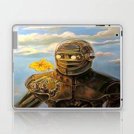 Robot & Flower Laptop & iPad Skin