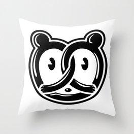 Missus Pretzel Throw Pillow
