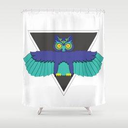 EDC Owl Shower Curtain
