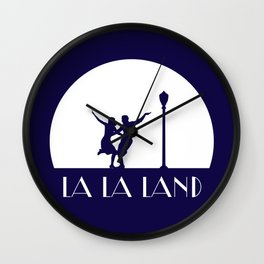 La la Land movie design Wall Clock