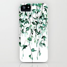 Ivy on the Wall iPhone Case