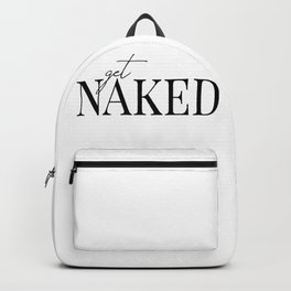 get naked II Backpack