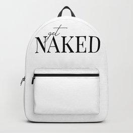 get naked II Backpack