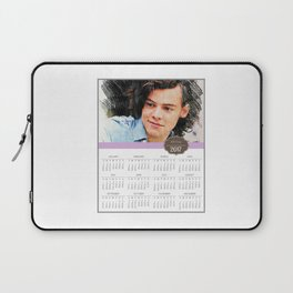 Harry Styles, One Direction, 1D, 1dFanArt, 2017 Calendar, Calendar, 2017 Laptop Sleeve