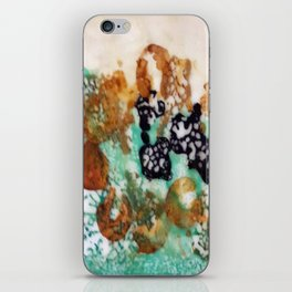 Lost Chromosome - Mixed Media Beeswax Encaustic Abstract Modern Art, 2015 iPhone Skin