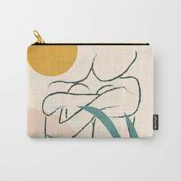 Minimal Line in Nature I Carry-All Pouch