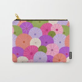 Colorful Sea Urchins 3 Carry-All Pouch