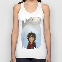 big hero 6 Tank Tops featuring Big Hero 6 by MikakoskArts