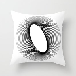O like O Throw Pillow