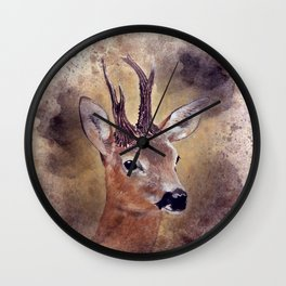 out in the woods -1 colorvariation -  Wall Clock