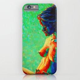 Cubistic woman (2011) iPhone Case