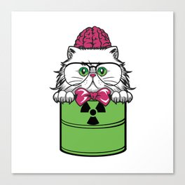 Green Hazard furniture Design by diegoramonart Canvas Print