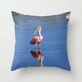 Kick Off Your Shoes Throw Pillow