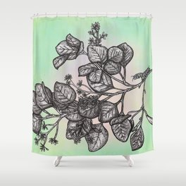 """Get Floral """"Earthly Measure Shower Curtain"""