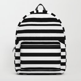SCAN LINES (BLACK-WHITE) Backpack