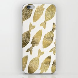 Indonesian Fish Duo – Gold Palette iPhone Skin