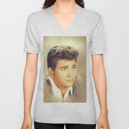 Michael Landon, Actor Unisex V-Neck
