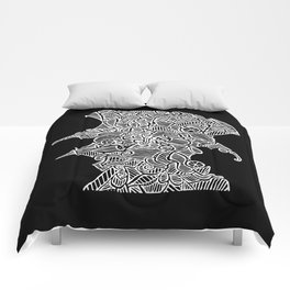 Bird Man Comforters