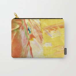Abstraction - Sunny - by LiliFlore Carry-All Pouch