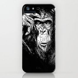 Chimp iPhone Case