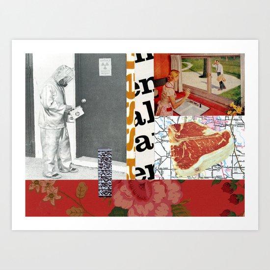 Radioactivland Art Print