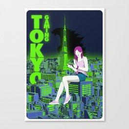 Tokyo Gaming Canvas Print