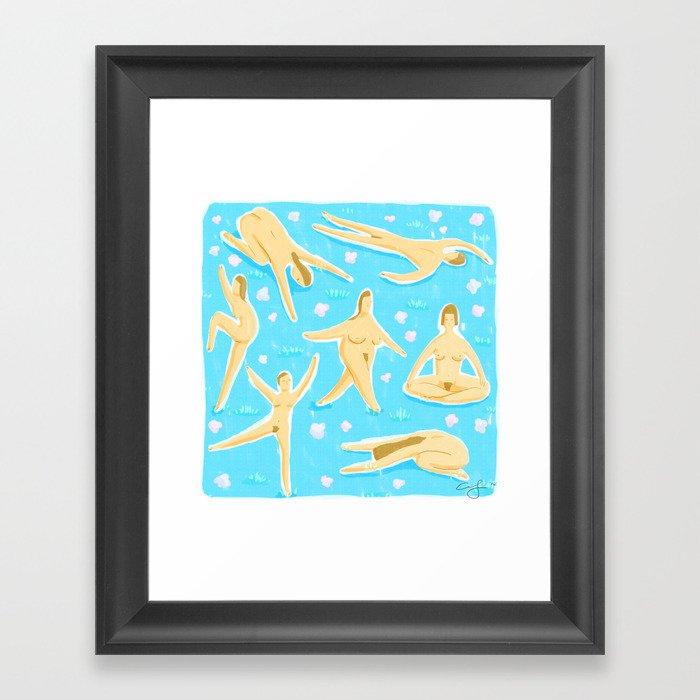NUDES! Framed Art Print