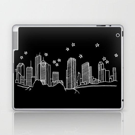 Houston, Texas City Skyline Laptop & iPad Skin
